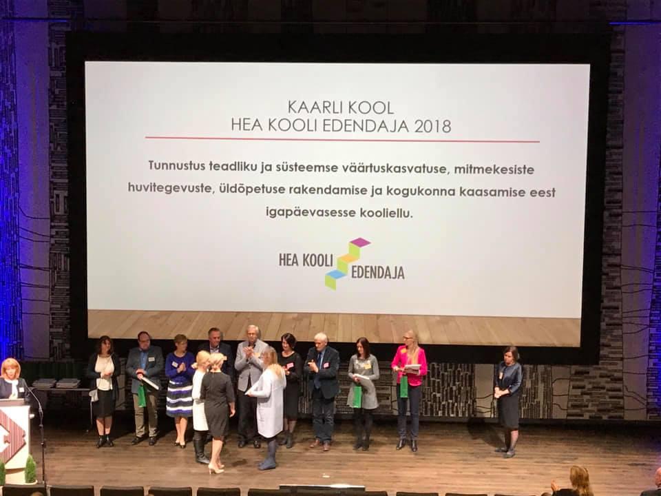 HEA KOOLI EDENDAJA 2018