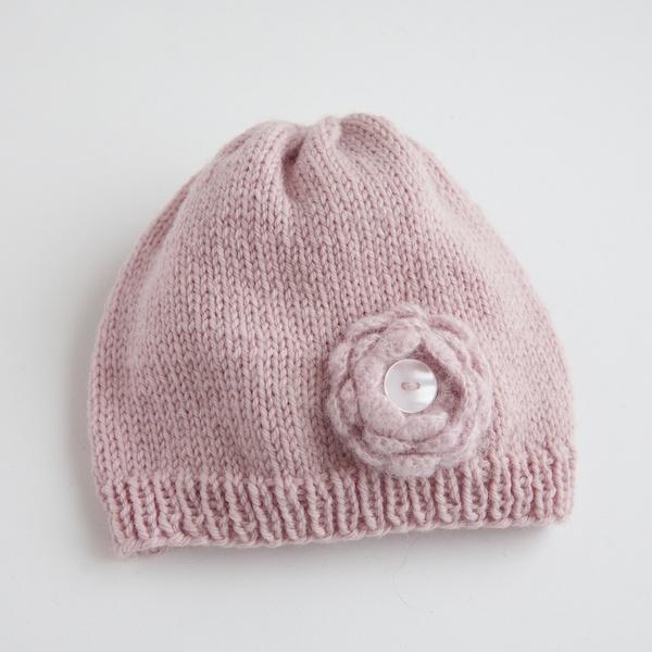 Laste kootud müts 4 (ümbermõõt u30cm)