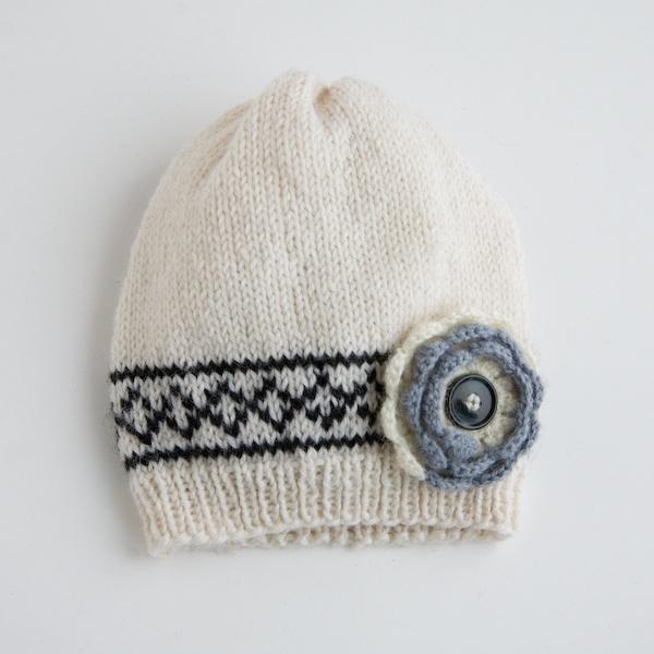 Laste kootud müts 1 (ümbermõõt u30cm)