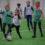 Kaarli Kooli õpilased UEFA Grassroots Coach Education praktika sessioonil